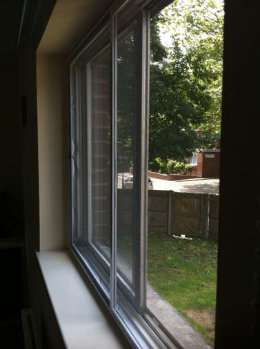 Fly screens for windows doors and patio doors afs all for Double patio door fly screen
